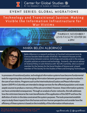 Technology and Transitional Justice Flyer