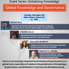Global Knowledge and Governance Flyer