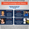 Global Knowledge and History Flyer